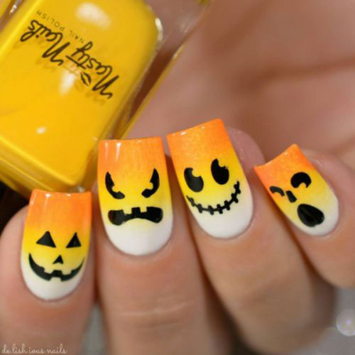 15-Halloween-Candy-Corn-Nails-Art-Designs-Ideas-2018-15