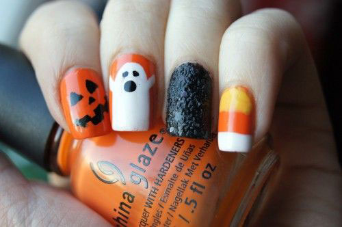 15-Halloween-Candy-Corn-Nails-Art-Designs-Ideas-2018-2