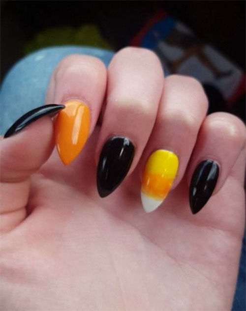 15-Halloween-Candy-Corn-Nails-Art-Designs-Ideas-2018-4