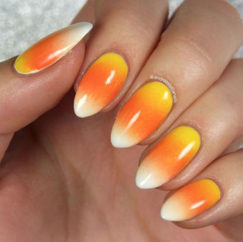 15-Halloween-Candy-Corn-Nails-Art-Designs-Ideas-2018-6