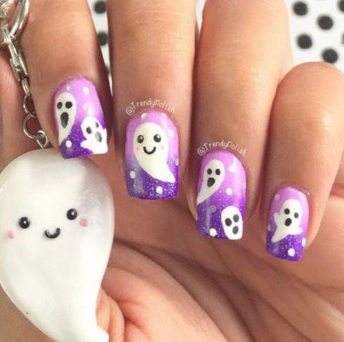 15-Halloween-Ghost-Nails-Art-Designs-Ideas-2018-1