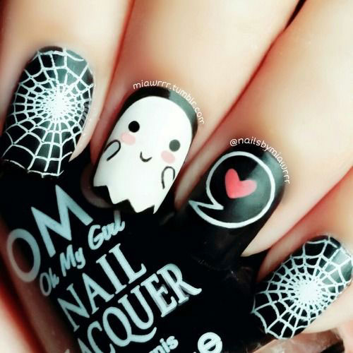 15-Halloween-Ghost-Nails-Art-Designs-Ideas-2018-10
