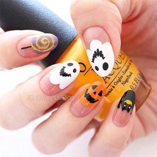15-Halloween-Ghost-Nails-Art-Designs-Ideas-2018-16