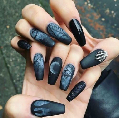 15-Halloween-Witch-Nails-Art-Designs-Ideas-2018-13