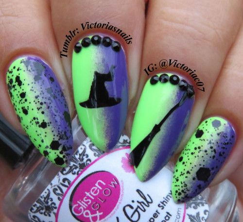 15-Halloween-Witch-Nails-Art-Designs-Ideas-2018-8