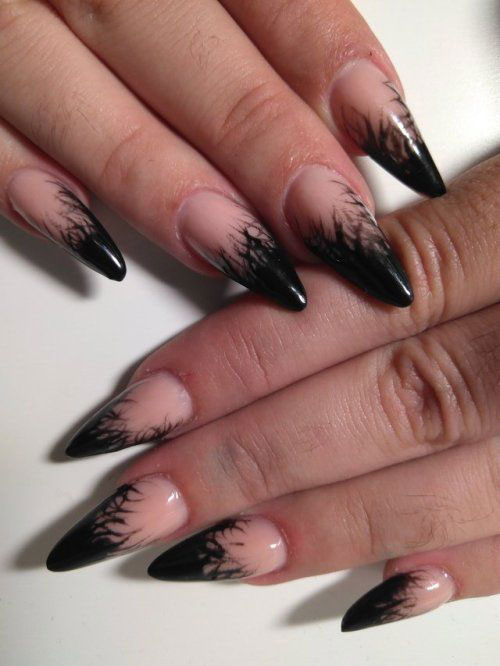 15-Halloween-Witch-Nails-Art-Designs-Ideas-2018-9