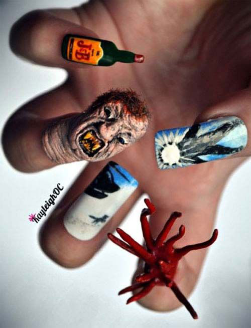 15-Scary-Halloween-Nails-Art-Designs-Ideas-2018-7