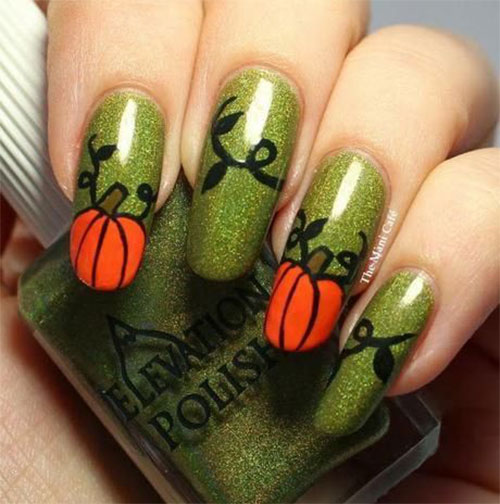 18-Cute-Halloween-Pumpkin-Nails-Art-Designs-Ideas-2018-12