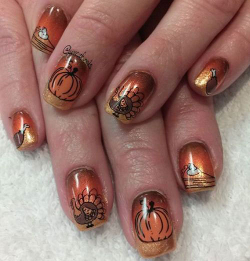 18-Cute-Halloween-Pumpkin-Nails-Art-Designs-Ideas-2018-2