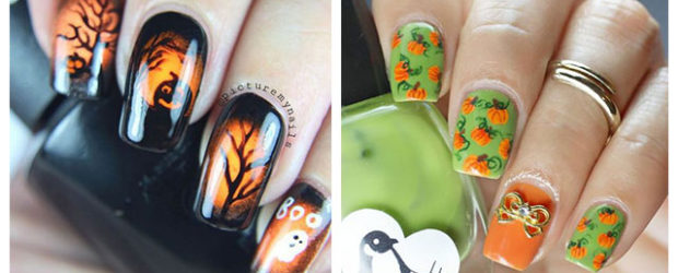 18-Cute-Halloween-Pumpkin-Nails-Art-Designs-Ideas-2018-F