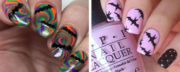 18-Halloween-Bat-Nails-Art-Designs-Ideas-2018-F