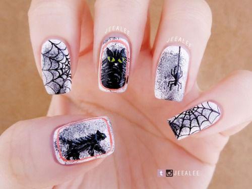 18-Halloween-Spider-Nail-Art-Designs-Ideas-2018-Spider-Web-Nails-10