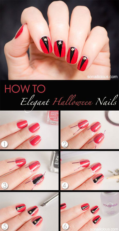 20-Easy-Step-By-Step-Halloween-Nails-Art-Tutorials-For-Beginners-2018-19