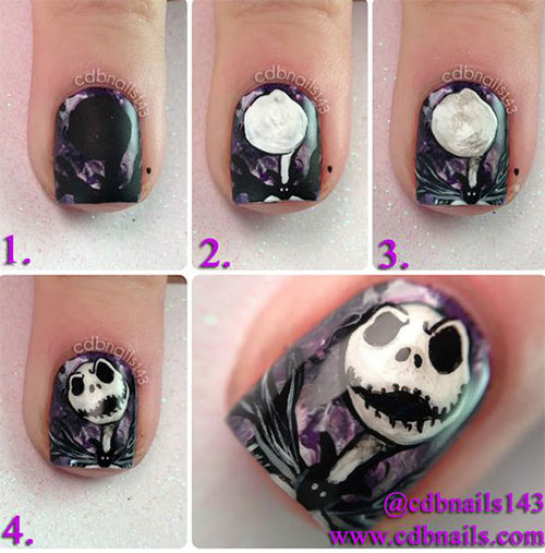 20-Easy-Step-By-Step-Halloween-Nails-Art-Tutorials-For-Beginners-2018-3