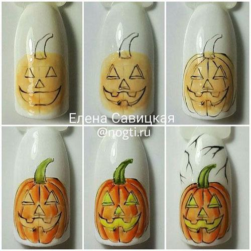 20-Easy-Step-By-Step-Halloween-Nails-Art-Tutorials-For-Beginners-2018-4