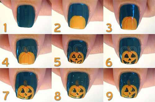 20-Easy-Step-By-Step-Halloween-Nails-Art-Tutorials-For-Beginners-2018-5