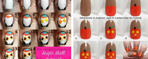 20-Easy-Step-By-Step-Halloween-Nails-Art-Tutorials-For-Beginners-2018-F
