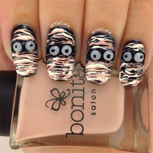 20-Halloween-Mummy-Nails-Art-Designs-Ideas-2018-1