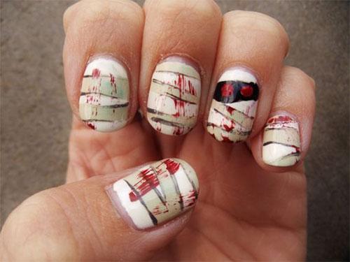 20-Halloween-Mummy-Nails-Art-Designs-Ideas-2018-19