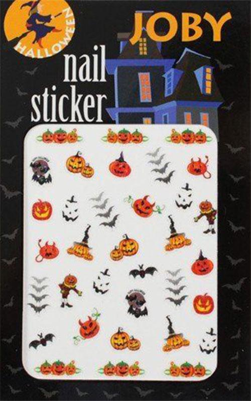20-Halloween-Nails-Art-Stickers-Decals-2018-13