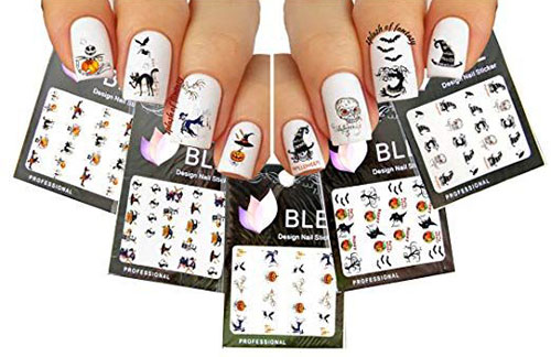 20-Halloween-Nails-Art-Stickers-Decals-2018-16