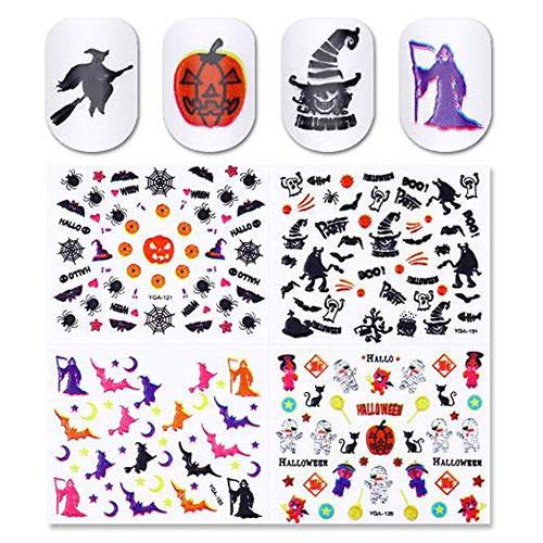 20-Halloween-Nails-Art-Stickers-Decals-2018-18