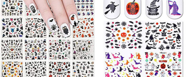 20-Halloween-Nails-Art-Stickers-Decals-2018-F