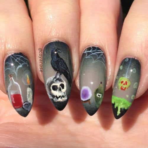 50-Halloween-Nails-Art-Designs-Ideas-2018-32