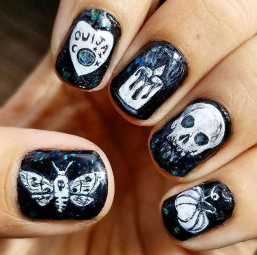 Halloween-Skull-Nails-Art-Designs-Ideas-2018-13