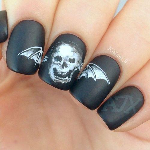 Halloween-Skull-Nails-Art-Designs-Ideas-2018-14