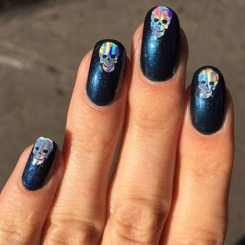 Halloween-Skull-Nails-Art-Designs-Ideas-2018-18