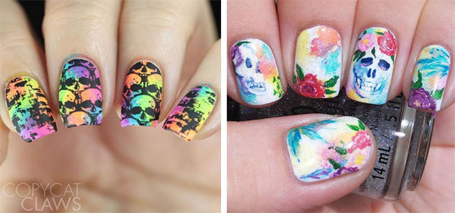 Halloween-Skull-Nails-Art-Designs-Ideas-2018-F