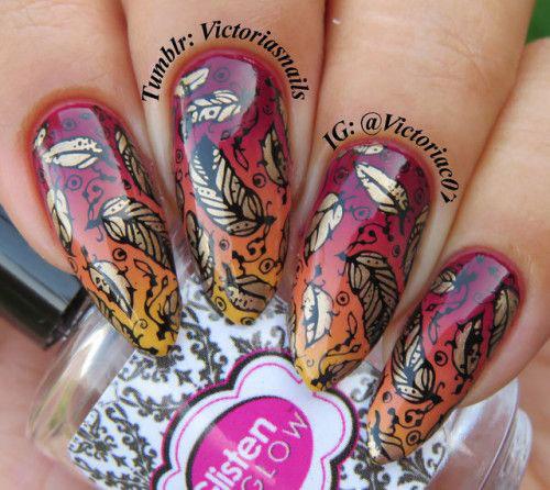 Autumn Toe Nail Art Designs Ideas 2018: 15 Autumn Acrylic Nail Art Designs & Ideas 2018 / Fall
