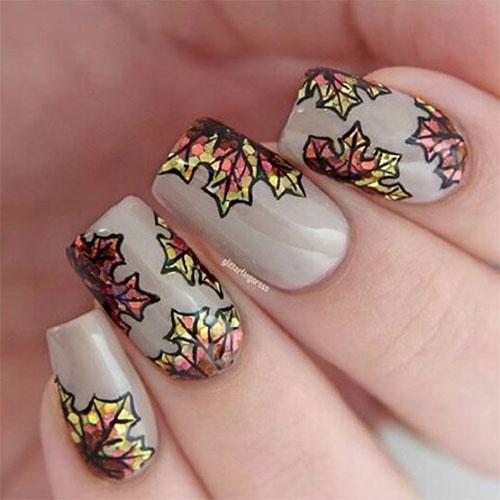 15 Autumn Acrylic Nail Art Designs \u0026 Ideas 2018 / Fall Nails