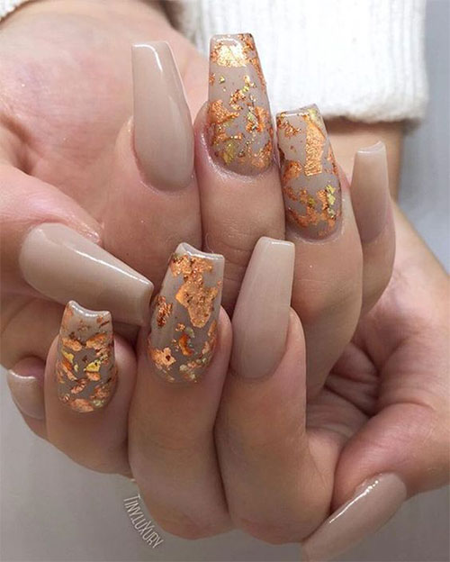 15 Autumn Acrylic Nail Art Designs & Ideas 2018 / Fall