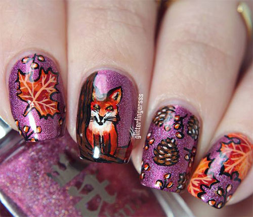 15-Autumn-Acrylic-Nail-Art-Designs-Ideas-2018-Fall-Nails-4