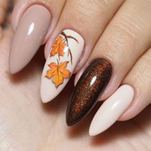 15 Autumn Gel Nail Art Designs Ideas 2018 Fall Nails Fabulous