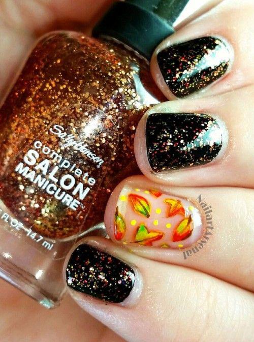 15-Easy-Fall-Autumn-Nails-Art-Designs-Ideas-2018-13