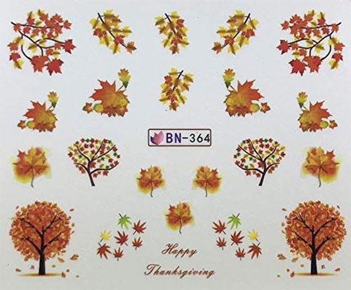 Autumn-Nail-Art-Stickers-Decals-2018-4