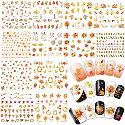 Autumn-Nail-Art-Stickers-Decals-2018-6