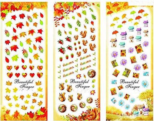 Autumn-Nail-Art-Stickers-Decals-2018-7