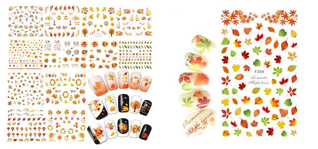 Autumn-Nail-Art-Stickers-Decals-2018-F
