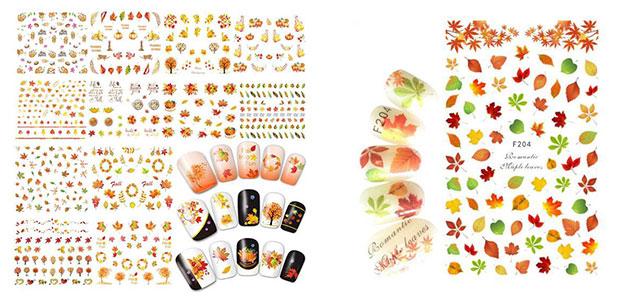 Autumn-Nail-Art-Stickers-Decals-2018-F