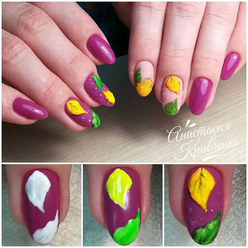 Easy-Autumn-Nail-Art-Tutorials-For-Beginners-2018-10