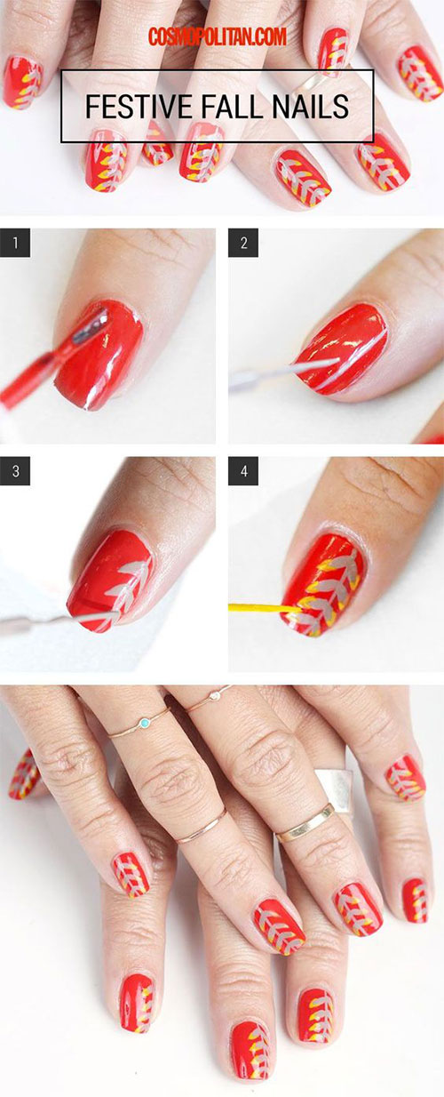 Easy-Autumn-Nail-Art-Tutorials-For-Beginners-2018-15