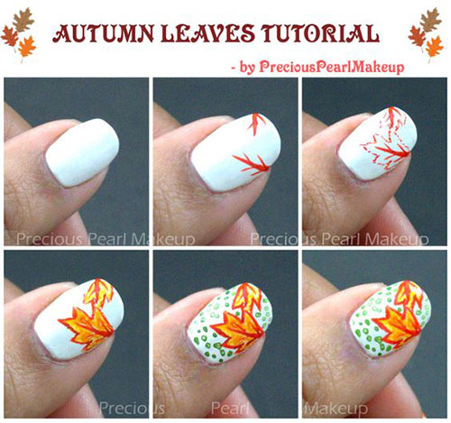 Easy-Autumn-Nail-Art-Tutorials-For-Beginners-2018-9