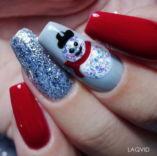 12-Christmas-Snowman-Nail-Art-Designs-Ideas-2018-Xmas-Nails-14