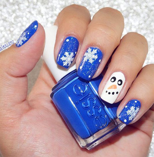 12-Christmas-Snowman-Nail-Art-Designs-Ideas-2018-Xmas-Nails-4