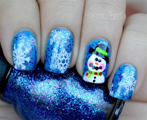 12-Christmas-Snowman-Nail-Art-Designs-Ideas-2018-Xmas-Nails-7