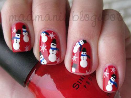 12-Christmas-Snowman-Nail-Art-Designs-Ideas-2018-Xmas-Nails-9